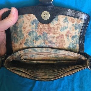 HOBO Bags - HOBO Black Patent Leather Baguette Wristlet Clutch
